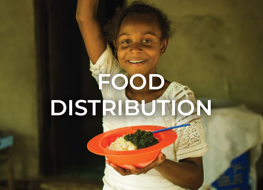 Food Distribution by Orphan Aid Liberia