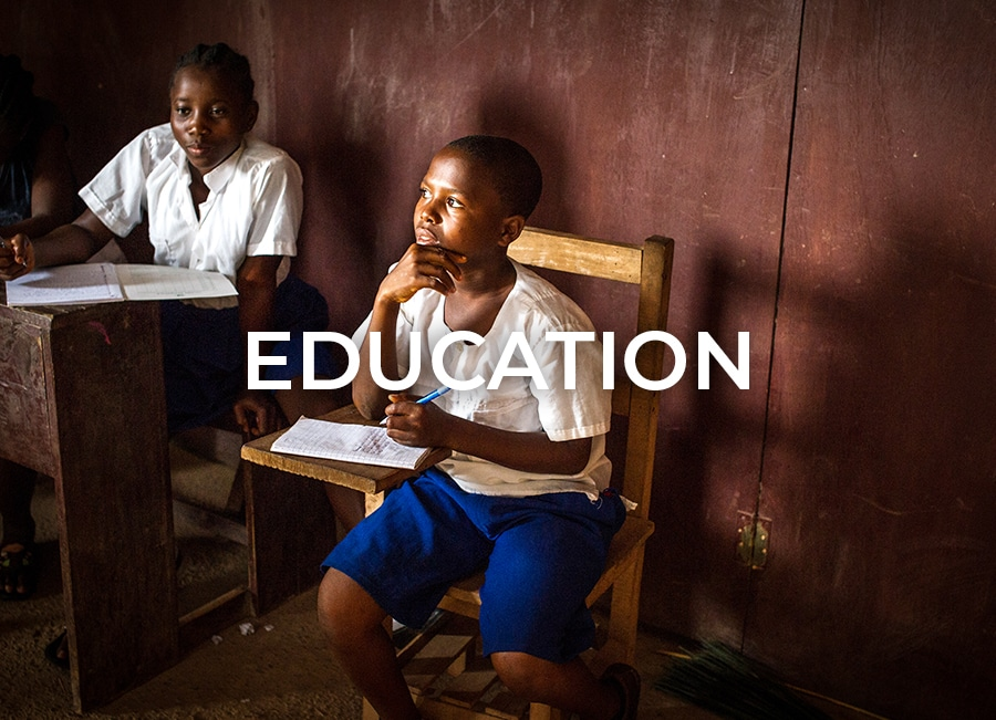 Education program by Orphan Aid Liberia